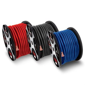 T-Spec v8GT Series 4 ga OFC Power Wire 100' Spool (red)