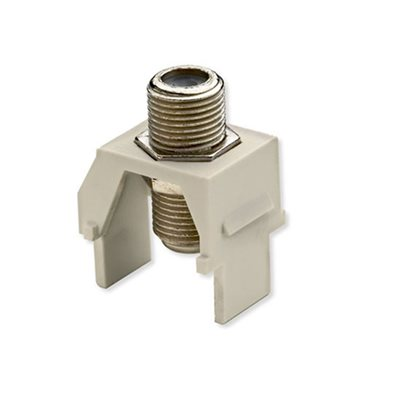 On-Q 1GHz F-Connector Insert (light almond)