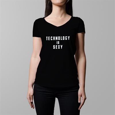 DOW Tech is Sexy, XX-Large (FEMALE, V-Neck)