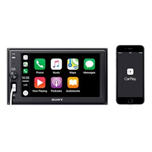 "Sony 6.2"" CarPlay Mechless A / V Center"