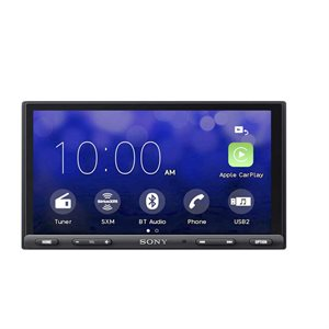 "Sony 7"" CarPlay / Android w /  SXM Mechless A / V Center"