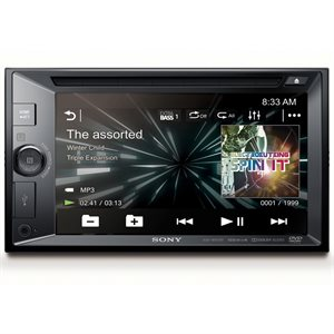 "Sony 6.2"" CD / DVD with BT NFC Songpal (Android) USB EQ5"