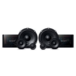 "Sony GS Series 6.5"" 3-Way Component Speaker System (pair)"