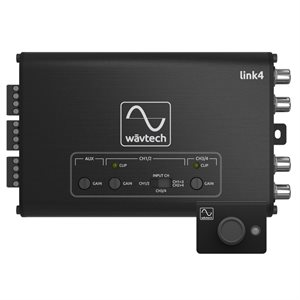 Wavtech 4CH Line Output Converter / Summing Processor w / Remote